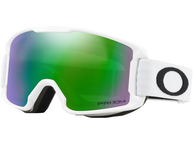Oakley Line Miner Occhiali da neve Bambino, bianco/verde